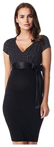 NOPPIES Jerseykleid Umstandskleid Zarita Kleid Dress mit Gürtel 50803 // L (40-42)
