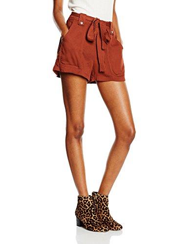 New Look Damen Short Pixie Twill, Rot (Red), Gr. 38 (Herstellergröße: 10)