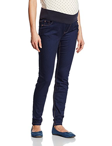 New Look Maternity Damen Jeggings Umstands Jeans Jegging, Gr. 40 (Herstellergröße: 12), Blau