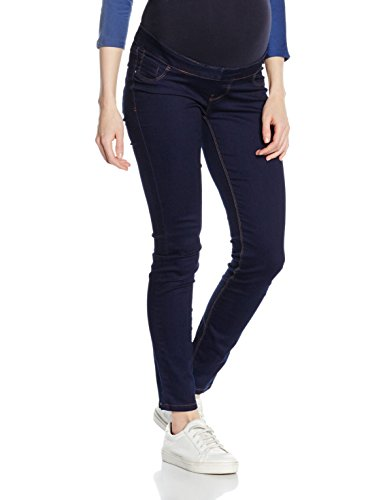New Look Maternity Damen Umstandshose Overbump Jegging, Blau (Blue Patterned), Gr. 44 (16 UK)