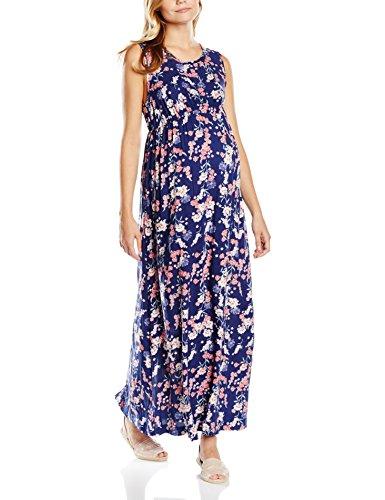 New Look Maternity Damen Umstandskleid Lawson, Blau-Blue (Blue Patterned), 10