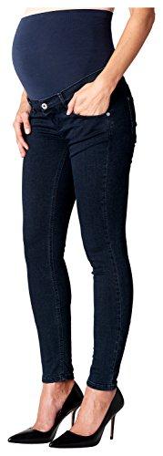 Noppies Damen Skinny Umstands Jeans OTB Avi, Gr. 36 (Herstellergröße: 28), Blau (Blue Denim C306)