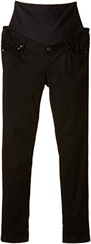 Noppies Damen Skinny Umstandshose Pants woven Camren, Gr. 44 (Herstellergröße: XXL), Schwarz (Black C270)