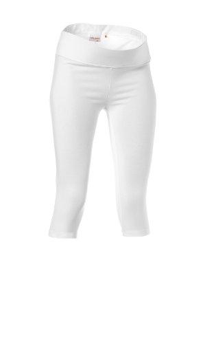 Noppies Damen Umstandsmode/ Hose  60102, Gr. 40/42 (L/XL), Weiß (01 white)