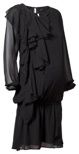 Noppies Damen Umstandsmode Kleid 10827, Gr. 34 (XS), Schwarz (black 06)