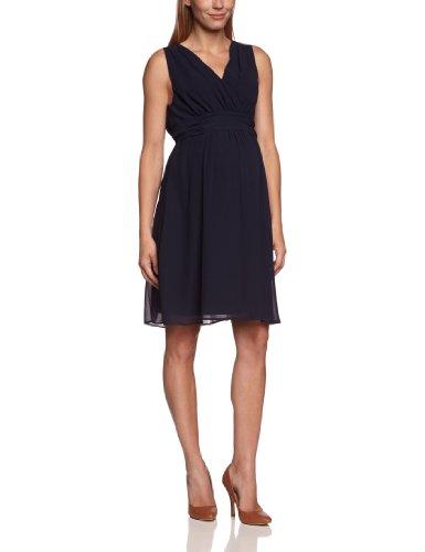 Noppies Damen Umstandsmode Kleid Comfort Fit 70459, Gr. 42 (XL), Blau (dark blue 46)