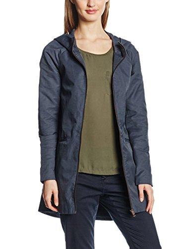 ONLY Damen Mantel 15110692, Blau (Blue Graphite), 38 (Herstellergröße: M)