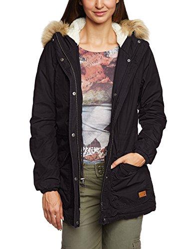 ONLY Damen Mantel London Cotton Coat Otw Bb, Gr. 38 (Herstellergröße: M), Schwarz