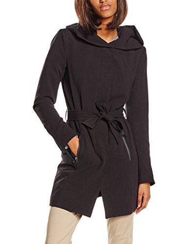 ONLY Damen Mantel onlCHRISTIE SPRING COAT OTW, Gr. 36 (Herstellergröße: S), Schwarz