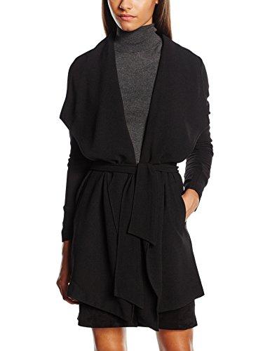 ONLY Damen Mantel onlRUNA SPRING COAT OTW NOOS, Gr. 34 (Herstellergröße: XS), Schwarz