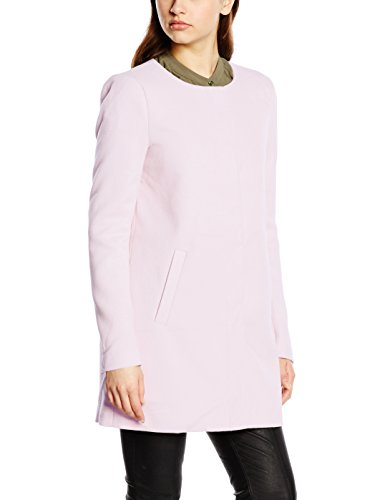 ONLY Damen Mantel onlSIDNEY SPRING COAT OTW NOOS, Gr. 38 (Herstellergröße: M), Rosa (Barely Pink)