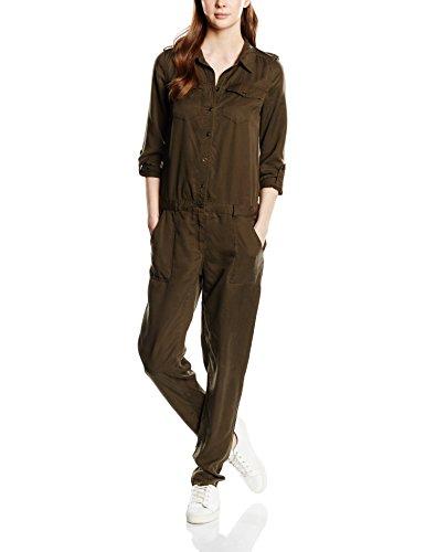ONLY Damen Relaxed Jumpsuits onlARIZONA, Gr. 38/L32 (Herstellergröße: 38), Grün (Tarmac)
