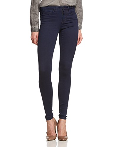 ONLY Damen Skinny Hose ROYAL SOFT REG SKIN JEGGING 101 NOOS, Gr. 34/L32 (Herstellergröße: XS/32), Blau (Dark Blue Denim)
