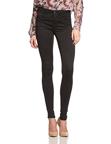 ONLY Damen Skinny Hose ROYAL SOFT REG SKIN JEGGING BLACK NOOS, Gr. 38/L32 (Herstellergröße: M/32), Schwarz (Black C-N10)