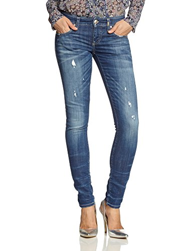 ONLY Damen Skinny Jeanshose Mercury Low Jeans Bl915 Dnm Noos, Blau (Medium Blue Denim), 26W / 32L