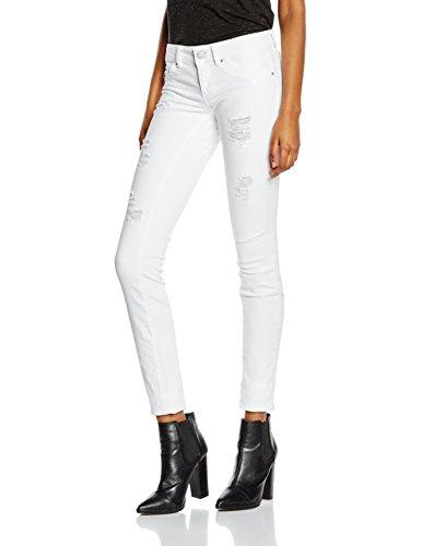 ONLY Damen Skinny Jeanshose onlCORAL SL SK DNM CRE NOOS, Gr. W30/L32 (Herstellergröße: 30), Weiß