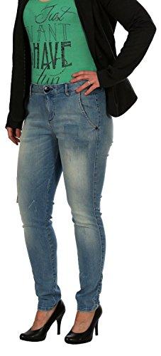 Only Damen Jeans, Damenjeans, Hüftjeans Belinda Jeano Boyfriend , Inch Größen:W28;Farbe:LightBlue 01