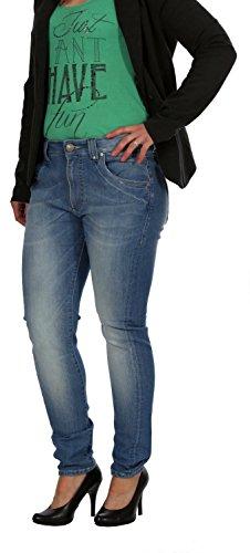 Only Damen Jeans, Damenjeans, Hüftjeans Sandra Boyfriend LightBlue , Inch Größen:W28