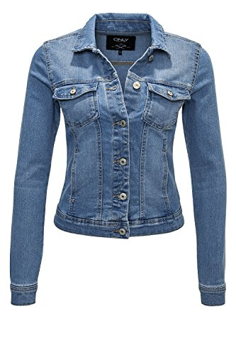 only damen jeansjacke onlnew westa jacket pim4203 blau gr e 38 fashion styles. Black Bedroom Furniture Sets. Home Design Ideas