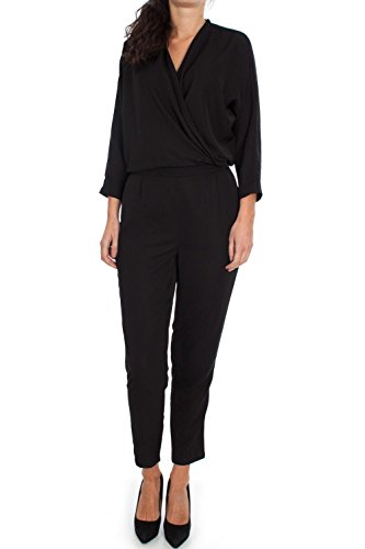 Only Damen Kleid Gr. 42, Schwarz - Schwarz