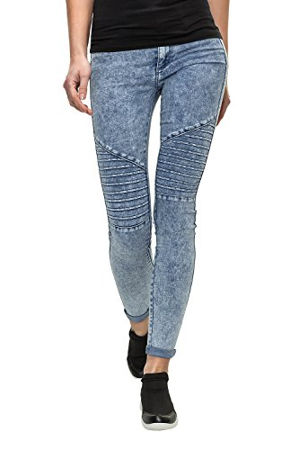 Only Damen Skinny Jeans Slim Fit Denim Vintage (M / 32, Light Blue Denim)
