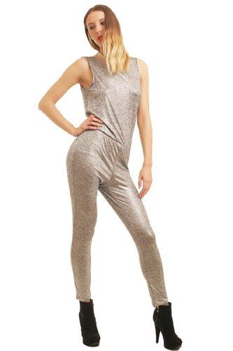 ONLY Damen Jumpsuit , Farbe:Silber;Größe:36