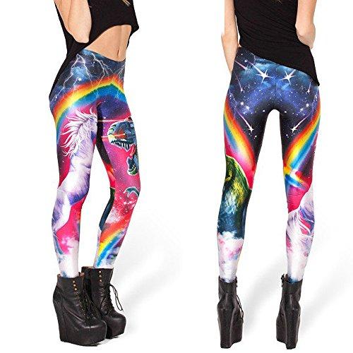 Original-Design estress Tattoo Leggings Galaxy Sterne Print Style Comic Destroy Graffiti Muster Galaxy DDK10485