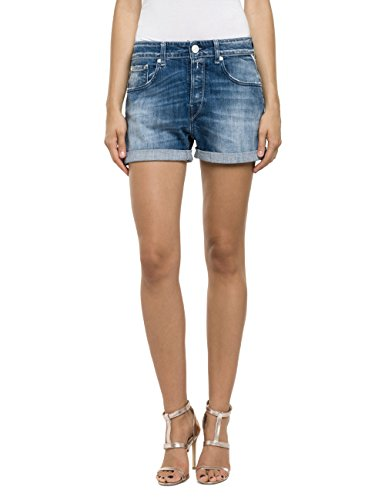 Replay Damen Short WA611 .000.443 727, Gr. W29, Blau (Blue 9)