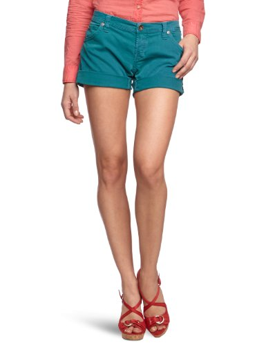 Replay Damen Short WX692.000.8005280, Gr. 29/SHORTS,Grün (Jade Green) (763)