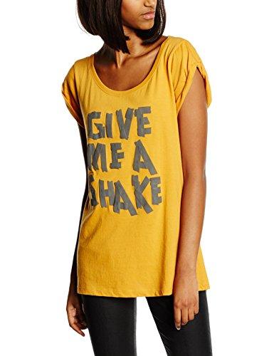 Replay Damen T-Shirt W3400H.000.20994, Gr. 36 (Herstellergröße: S), Orange (Orange 243)