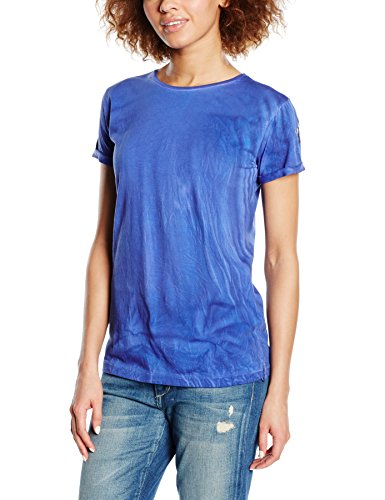 Replay Damen T-Shirt W3672O.000.20994T, Gr. 36 (Herstellergröße: S), Blau (ELECTRIC BLUE 694)