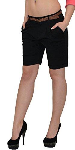 by-tex Damen Shorts kurze Hose Damen Sommerhose Damenshorts in vielen Farben H31