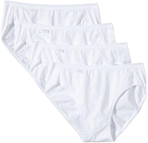 Sloggi Damen Slip Pure Tai 4P , Gr. 44, Weiß (WHITE 03)