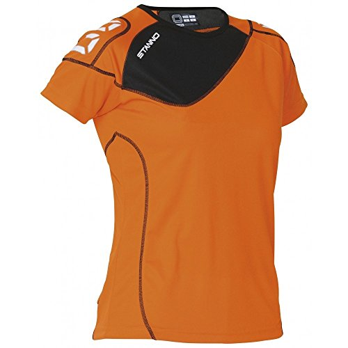 Stanno Montreal T-Shirt Trainingsshirt orange-schwarz Damen orange-schwarz, M