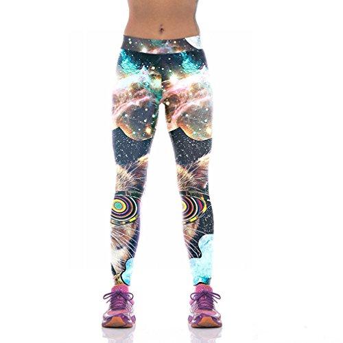 Sunnydate Damen Leggings 44 printed leggings m
