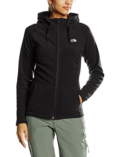 The North Face Damen Jacke W Mezzaluna Full Zip Hoodie Eu, Tnf Black, S, 0706421113762