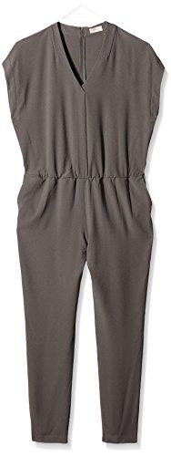 TRIANGLE - s.Oliver Damen Jumpsuits 18.604.85.5461, Grün (Dark Khaki 7988), W38 (Herstellergröße: 48)