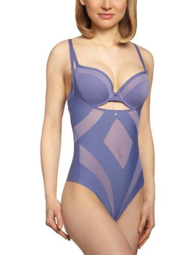 Triumph Damen Body Amazing Sensation BS , Gr. 42, Blau (PORCELAIN BLUE (LM))