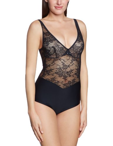 Triumph Damen Body Beauty Sensation BSWP , Gr. 90, Schwarz (BLACK (04))