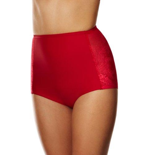 Triumph Damen Miederhose, Cool Sensation Hig Panty , Gr. 42, Rot (MARS RED (42))