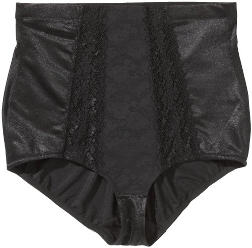 Triumph Damen Miederhose Elegant Mood Highwa Panty , Gr. 42/44 (80 cm), Schwarz (BLACK (04))