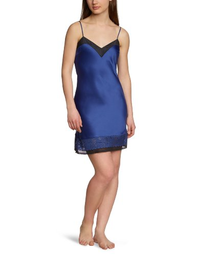 Triumph Damen Negligee Party Spotlight NDW , Gr. 36, Blau (DEEP COBALT (VA))