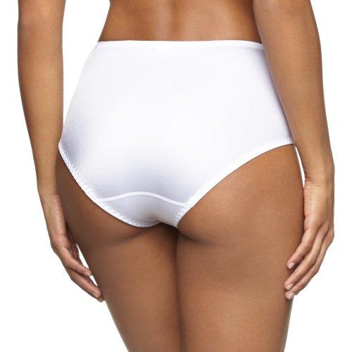 Triumph Damen Panties Riccarda Maxi , Gr. 48, Weiß (WHITE 03)