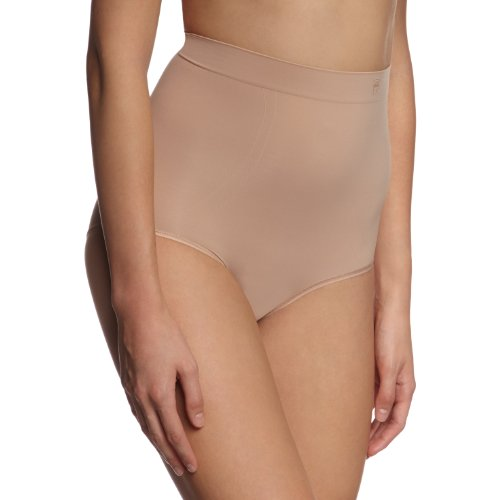 Triumph Damen Slip Second Skin Sens HighPan , Gr. 38/40 (M), Hautfarben (SMOOTH SKIN (5G))