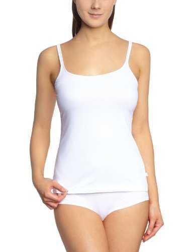 Triumph Damen Unterhemd Be Pure Shirt 01 , Gr. 42, Weiß (WHITE)