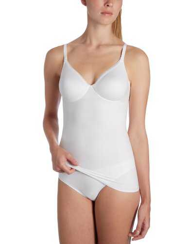 Triumph Damen Unterhemd Body Make-Up Velvet BVW , Gr. 75B, Weiß (WHITE (03))