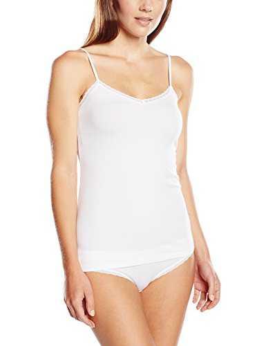 Triumph Damen Unterhemd Ess Fine Lace SH01 (1PQ30), Gr. 42, Weiß (WHITE 03)