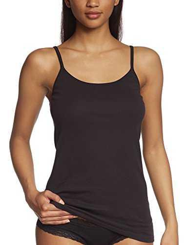 Triumph Damen Unterhemd Katia Basics Shirt01 , Gr. 38, Schwarz (BLACK 04)