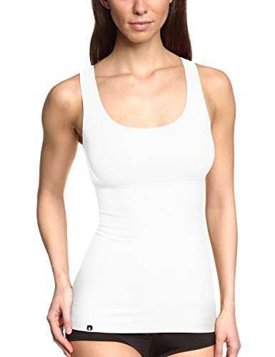 Triumph Damen Unterhemd, Trendy Sensation Shirt 02 , Gr. 40 (L), Wei (WHITE)