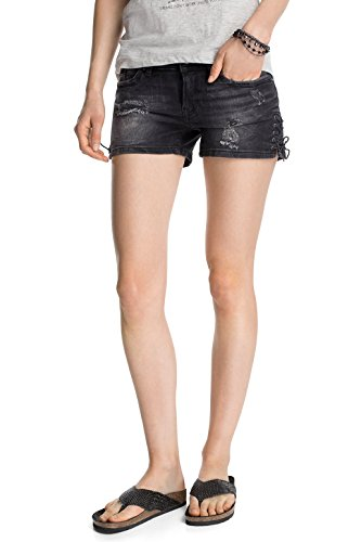 edc by ESPRIT Damen Short Shorts, Gr. 28, Schwarz (C used 990)
